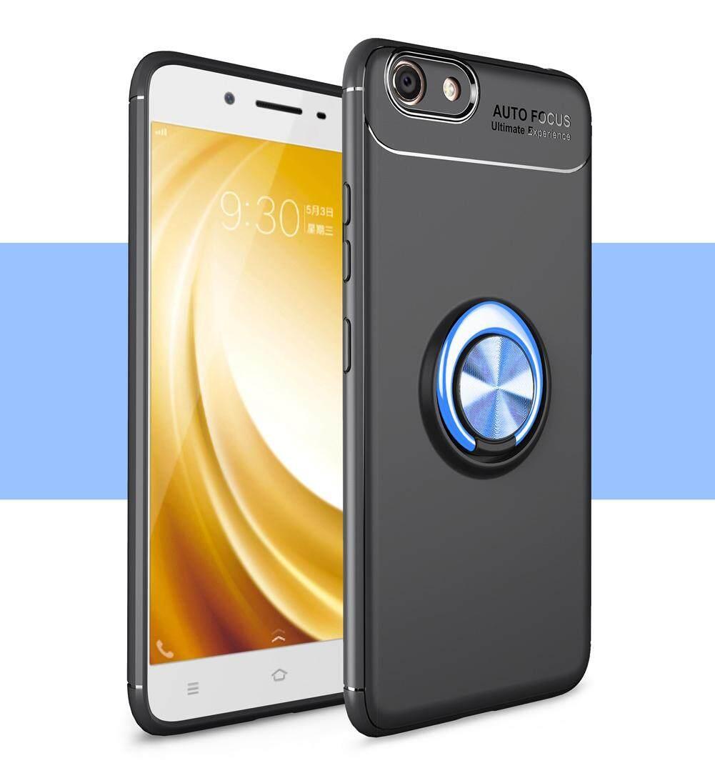 Upaitou Terbaru Pelindung untuk Vivo Y53 Ponsel TPU Lembut Case dengan Cincin Penyangga, anti-Scratch & Shockproof Pelindung Belakang Bumper untuk VIVO Y53 Luxury Silicon Case
