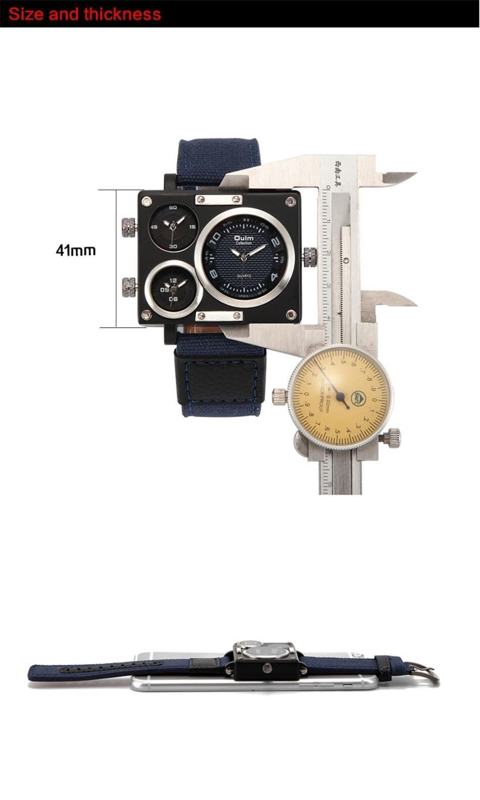 Oulm 3595 Men Quartz Watch--010