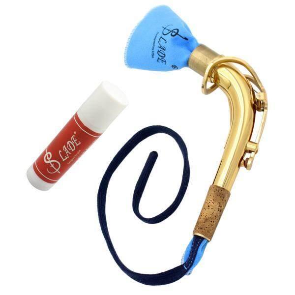 MYR 88 BolehDeals Alto Saxophone Sax Bend Neck with Cleaning Cloth Cork Grease Music AccessoryMYR88
