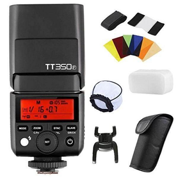 Godox TT350F Flash with X1T-F Trigger for Fujifilm Fuji Cameras GN36 TTL 1/8000s HSS 2.4G Wireless Transmission