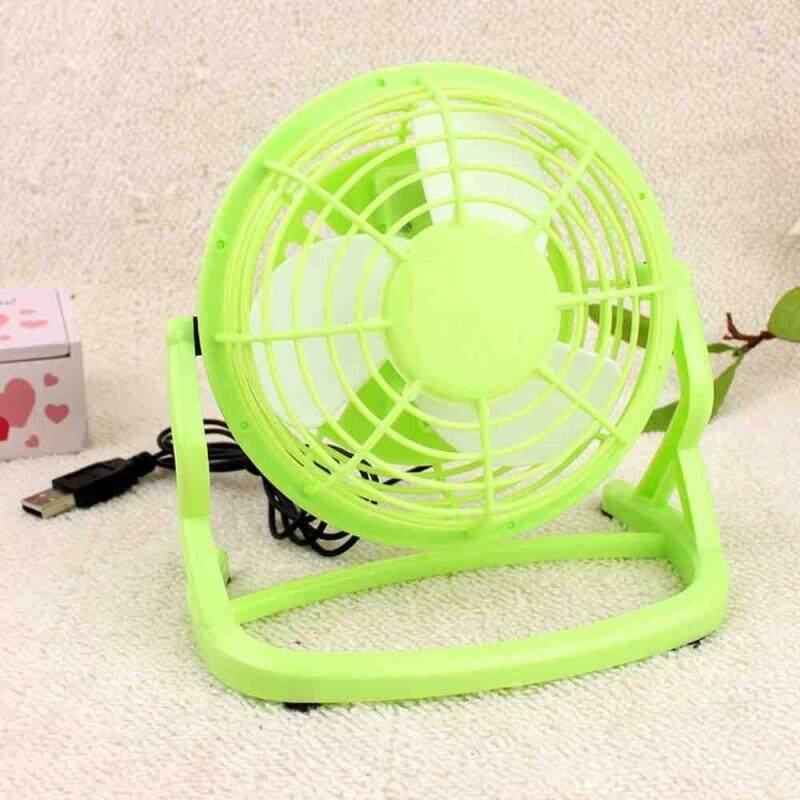Bảng giá Dueplay 1x Plastic Laptop Computer Notebook Super 360 Degree Rotating USB Mini Table Fan - intl Phong Vũ