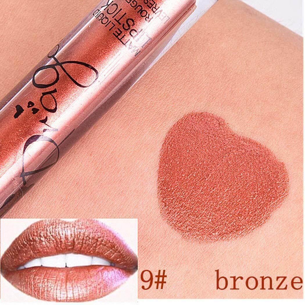 Terbaik Penjual Sunweb Baru Riasan Kosmetik Matte Tahan Lama Gaya Antik Lembut Bibir Lipstick Cair Pelembap Bibir-Intl