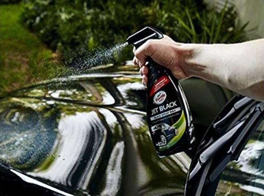 Turtle Wax Jet Black Black Spray Wax T-11