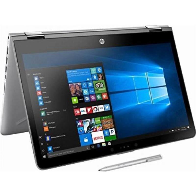 2018 HP High Performance 2-in-1 15.6-Inch Touchscreen Convertible Laptop with Stylus Pen, Intel Core i5-7200U Processor, 8GB RAM, 128GB HDD, WIFI, Bluetooth, HDMI, B&O PLA, Windows 10, Silver - intl