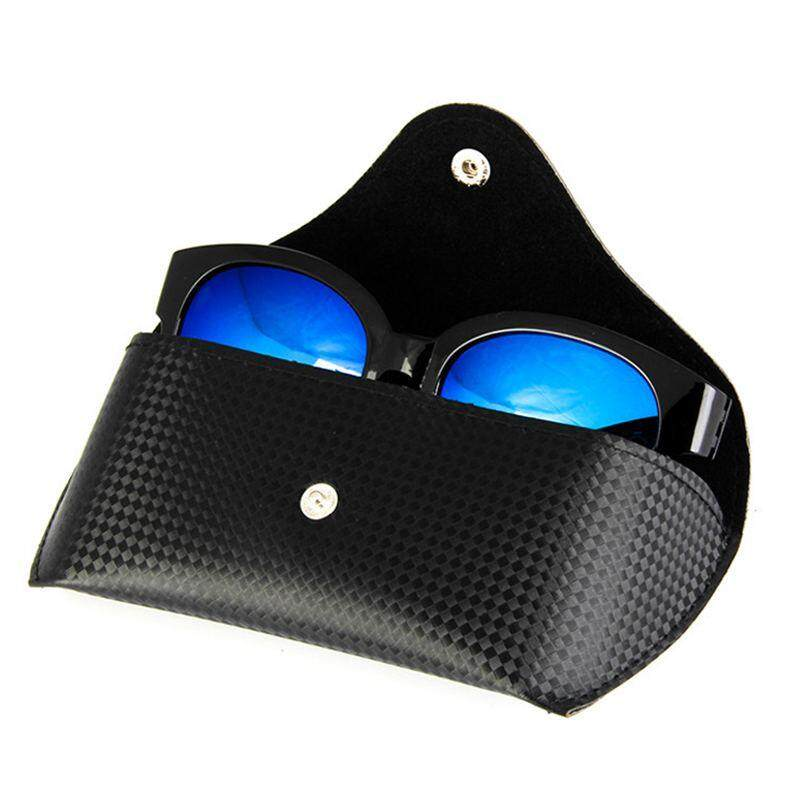 496b4263ced  Vigo Durable Pratical High-end Design New Durable Black PU Leather Glasses  Case Sunglasses