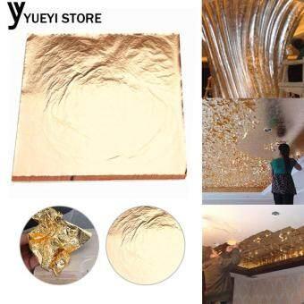 การส่งเสริม YYSL Gold Foil Paper Gilding Craft Paper Gold 100 Sheets