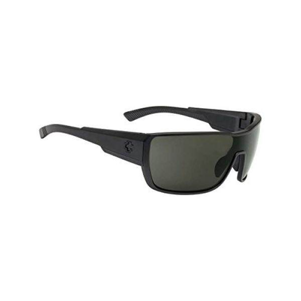 Spy Optic Tron 2 Kacamata untuk Pria dan untuk Wanita Terpolarisasi Gaya Tersedia Bingkai Besar dengan Dipatenkan Detail Meningkatkan Lensa Bahagia Tech untuk Murni Kinerja-Intl