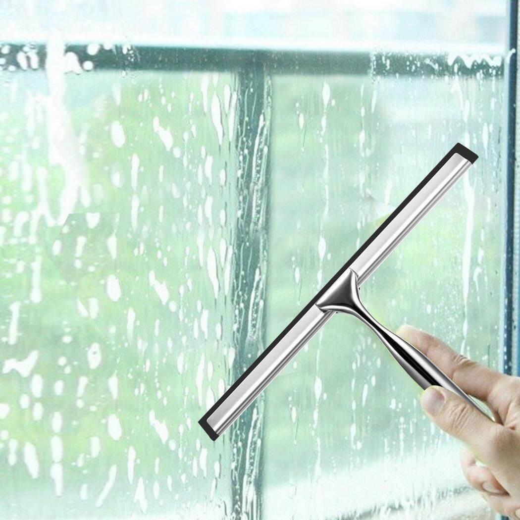 WONDERSHOP Stainless Steel Handheld Shower Glass Cleaning Window Cleaner Squeegee Shower Wiper - intl