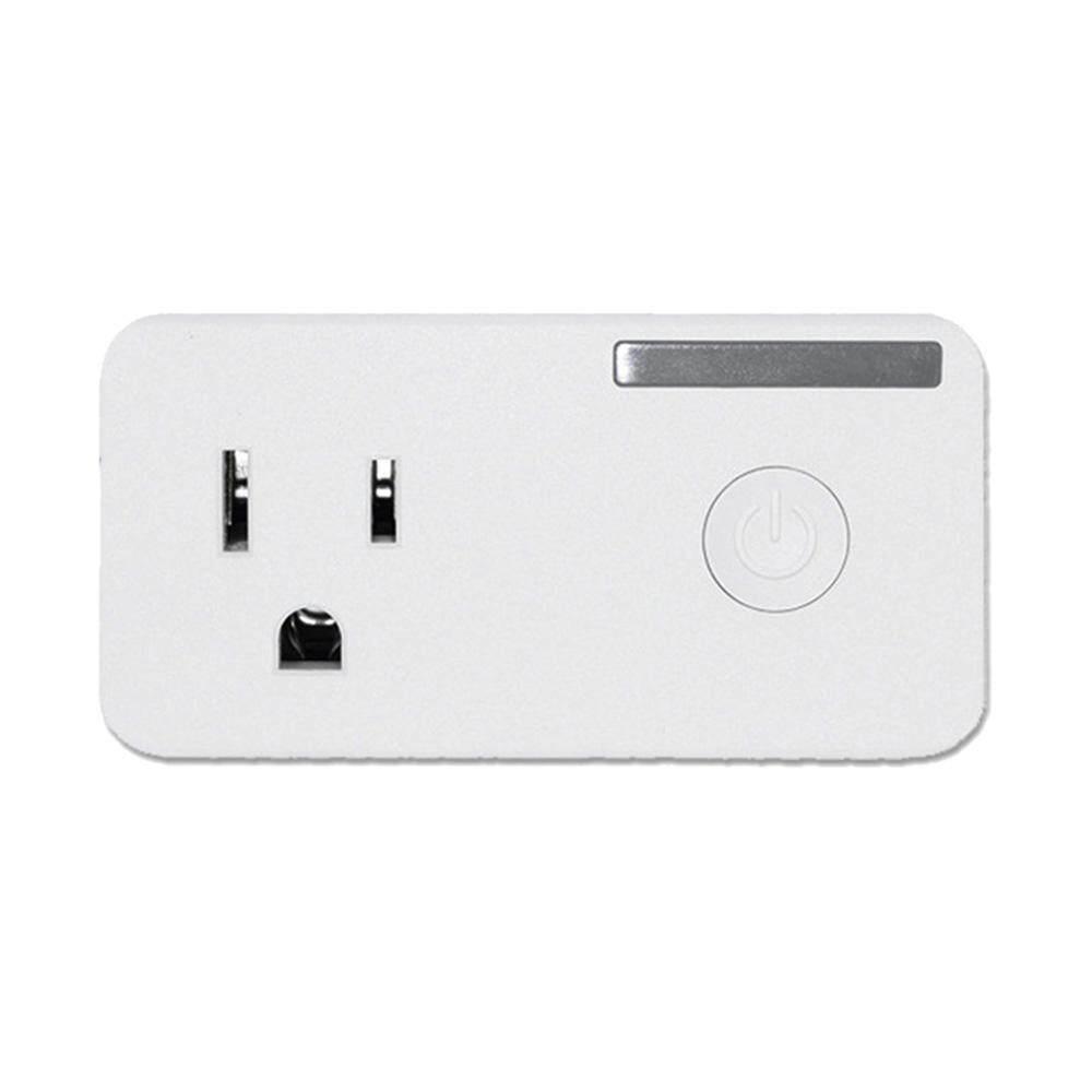 Coobonf US Plug Smart Plug WiFi, Mini Saklar Stopkontak, Bekerja dengan Amazon Alexa, Tidak Ada Hub Diperlukan, pengendali Jarak Jauh Perangkat dari Mana Saja, Ul Terdaftar dengan Fungsi Waktu, Menempati Hanya Satu Soket-Internasional
