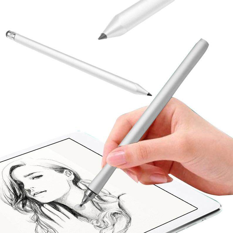 Hình ảnh BESTprice fast delivery Capacitive Touch Stylus Pen Pencil For iPad Tablet Mobile Phone Silver Resistive - intl