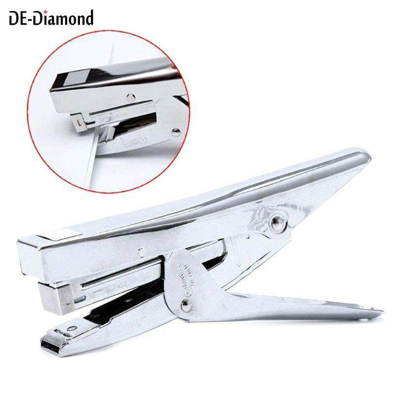 De Metal Stapler 20 Sheet Capacity Desktop Paper Plier Stationery Office Supplies By De-Diamond.