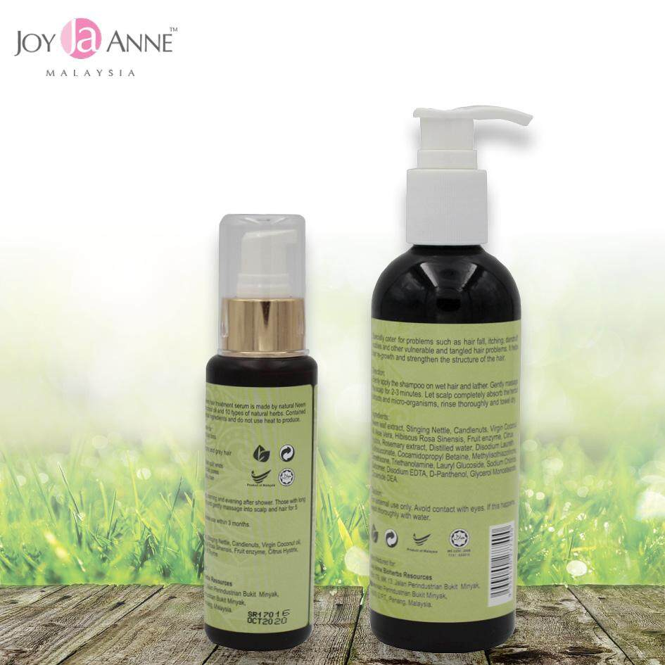 Healthy New You for HIM & HER Special Gift Set [1 RejuNeem Herbal Shampoo + 1 RejuNeem Treatment Serum]