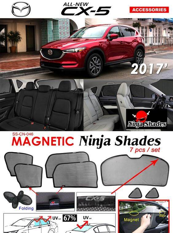 Mazda CX-5 CX 5 CX5 2017 2018 Magnetic Ninja Sun Shade Sunshade (7PCS)