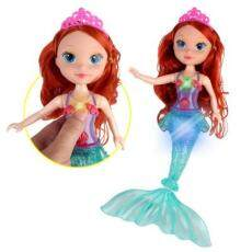 Sdunia Terbaru Anak-anak Boneka Ikan Duyung Anak-anak Gadis Ulang Tahun Mainan Boneka