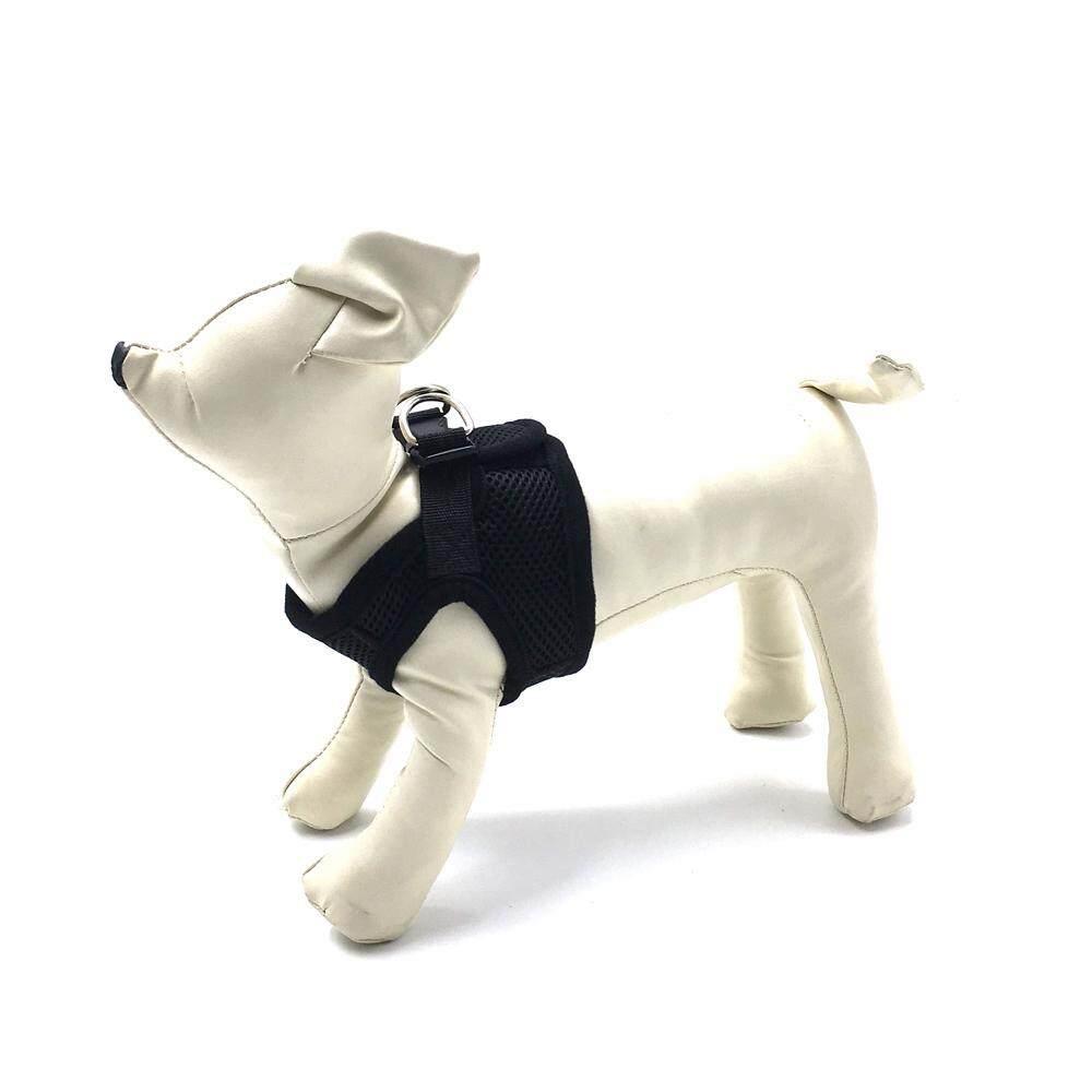 S Lovoyager LVHA15002Soft Mesh Pet Dog Safety Leash Dog Harness Vest Adjustable Leash Collar For Dog