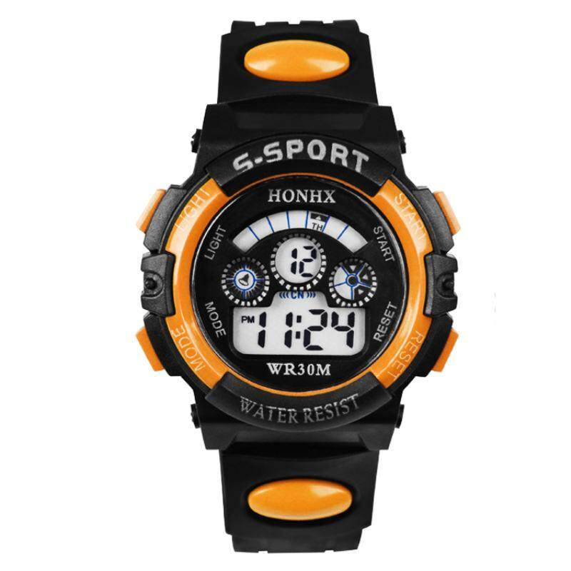Nơi bán Lagobuy Multifunction Waterproof Sport Electronic Digital WristWatch For Student