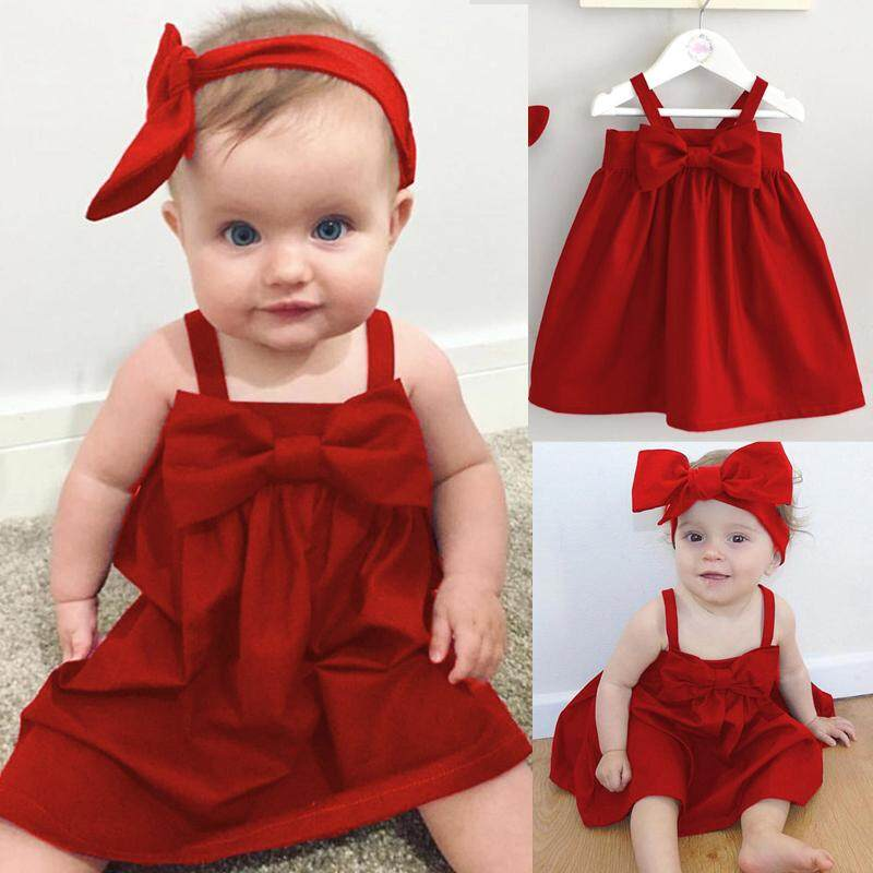 fc673f8b577 Toddler Infant Kids Baby Girls Princess Party Pageant Tutu Dress Summer  Clothes