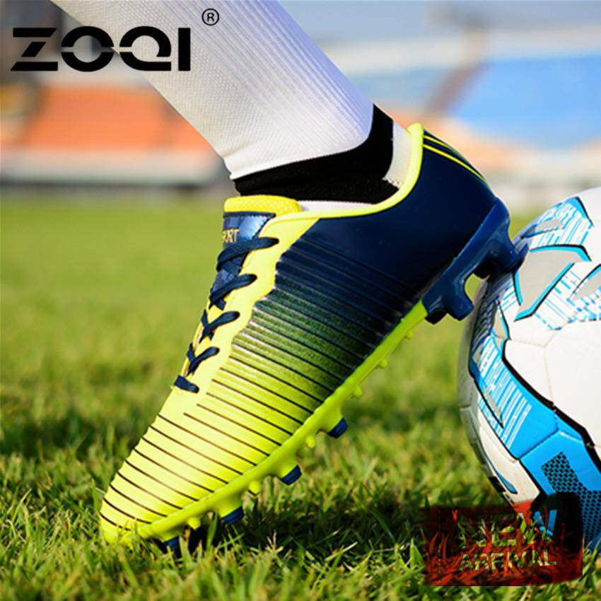 ZOQI TF FG Football Boots Training Sports Sneakers Shoes Adults Men s  Outdoor Soccer Cleats Shoes 6fb96b9ab