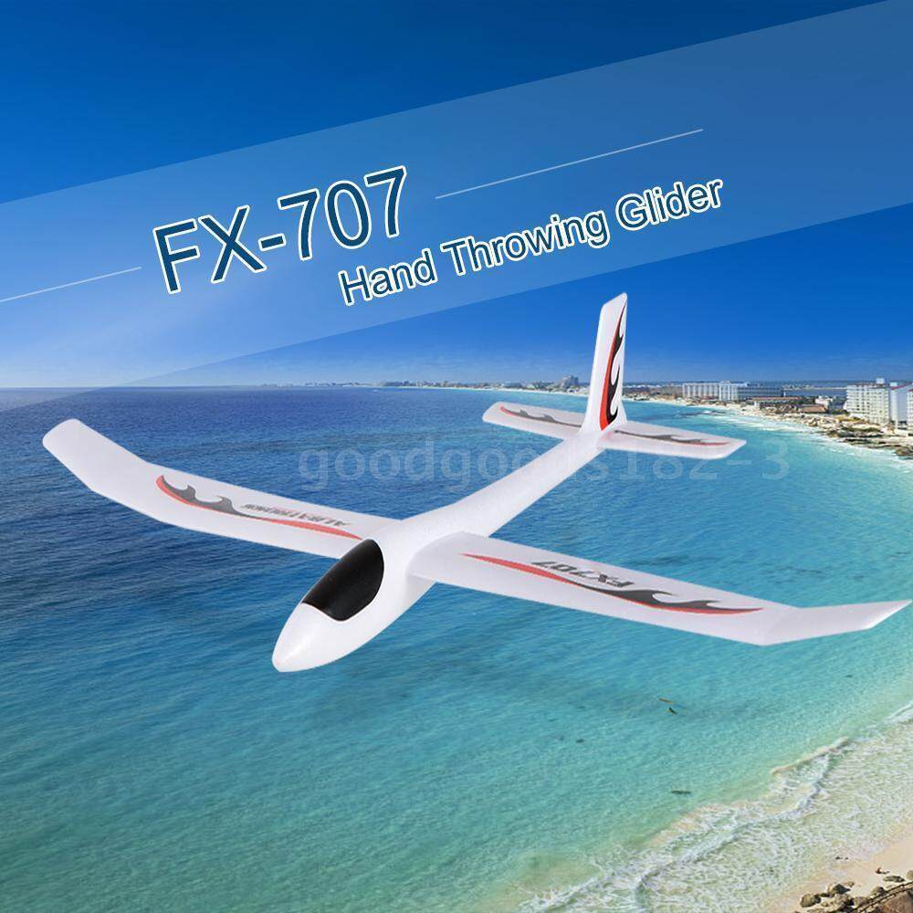 Fx-707 1210mm Wingspan Hand Throwing Glider Fixed Wing Diy Rc Racing Airplane By Audew.