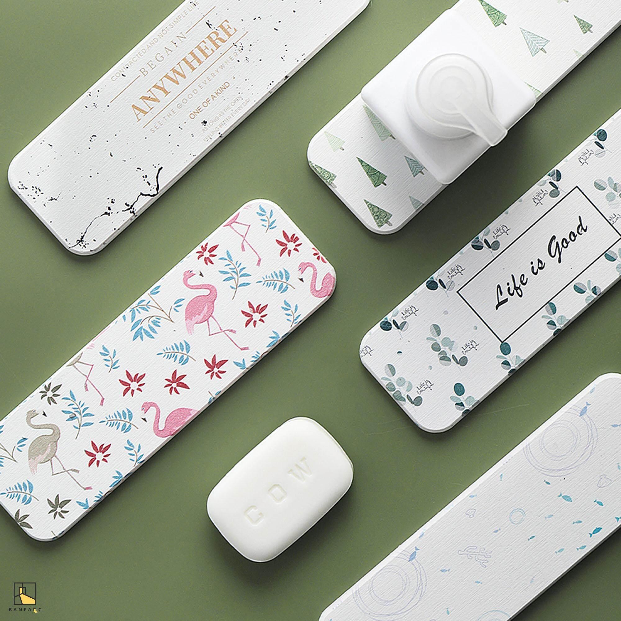 BANFANG Diatomaceous soap pad wash basin soap holder toothbrush cup mat  diatomaceous mud pad