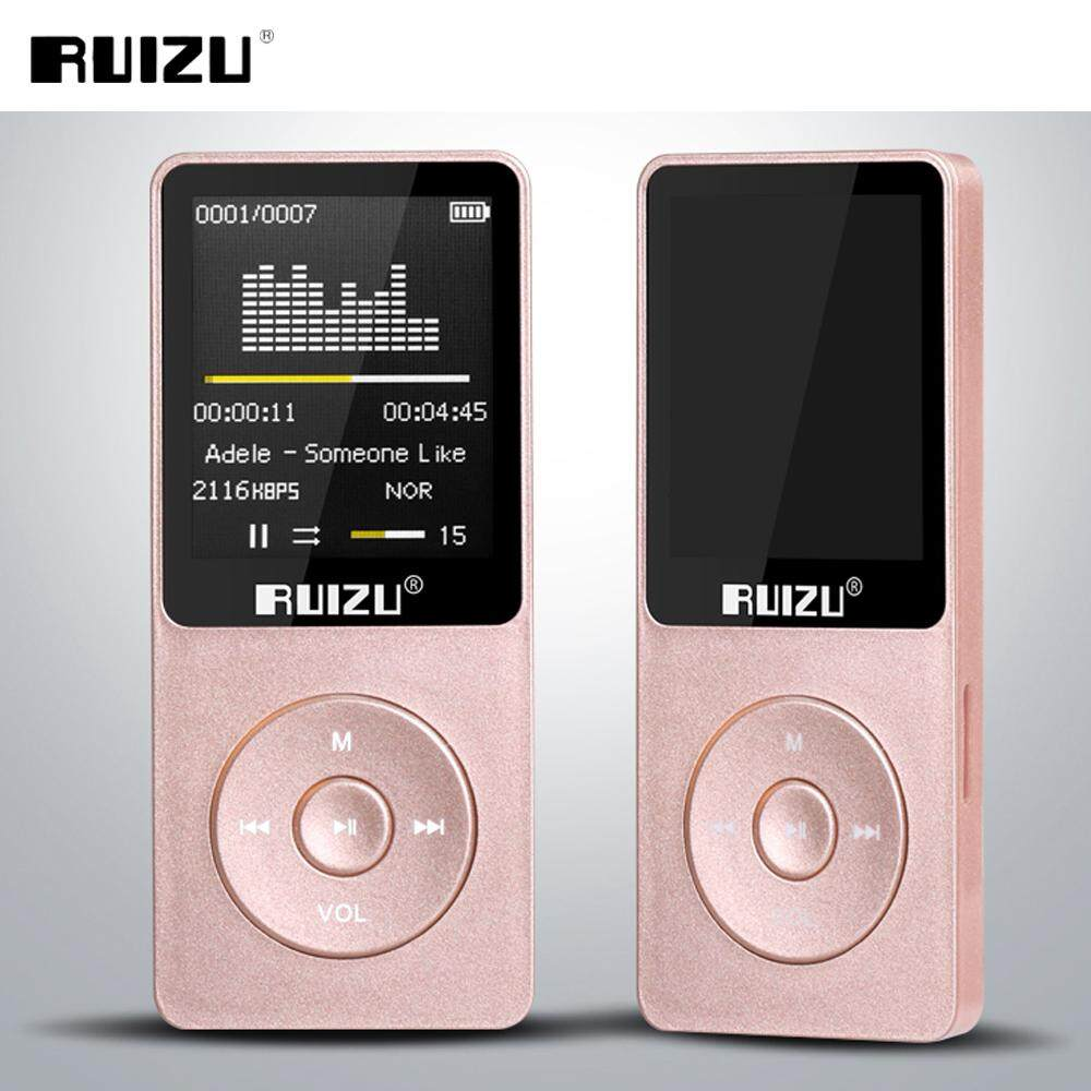 【Flash Deal】 Ruizu X02 8GB 1.8 Inch Screen HIFI FM Alarm Clock MP3 Music Player