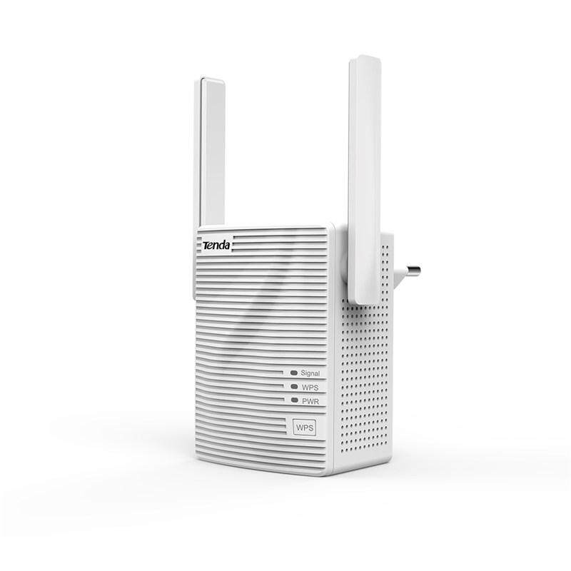 Tenda A301 Mini N300 300Mbps WiFi Repeater Range Extender with 2 Antennas (Size: 80 x 57 x 45 mm)