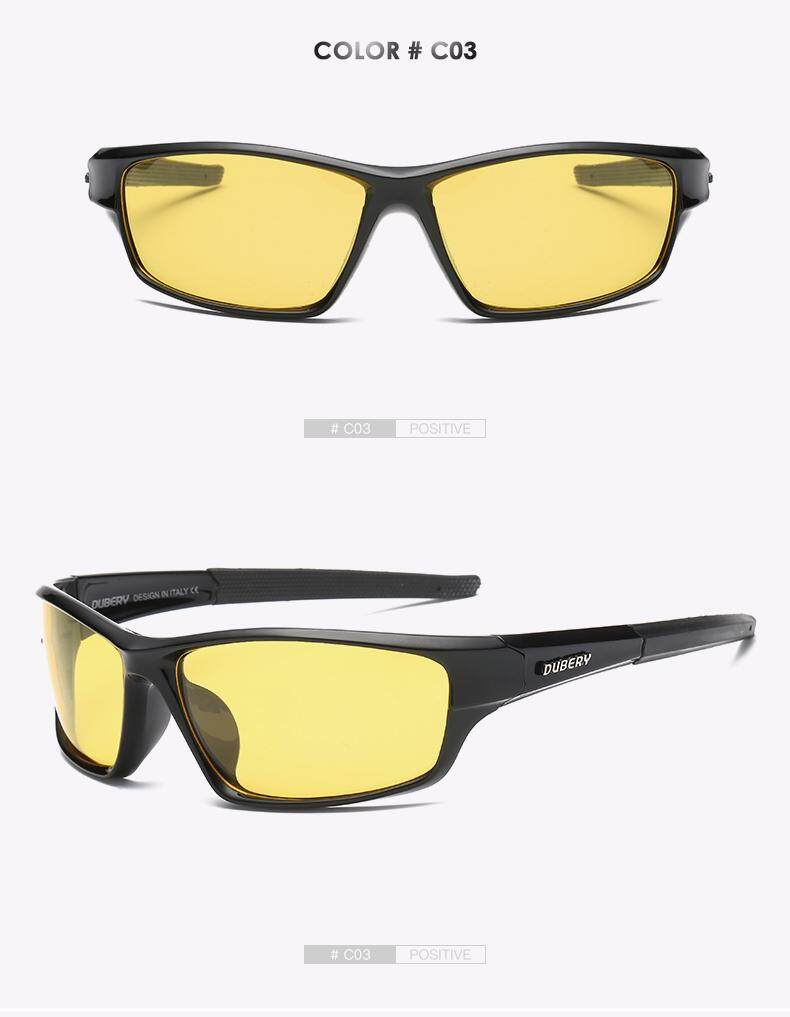51170c5a46 DUBERY Polarized Night Vision Aviator Sunglasses Men s Retro Male Sun  Glasses For Men Cool Brand Luxury