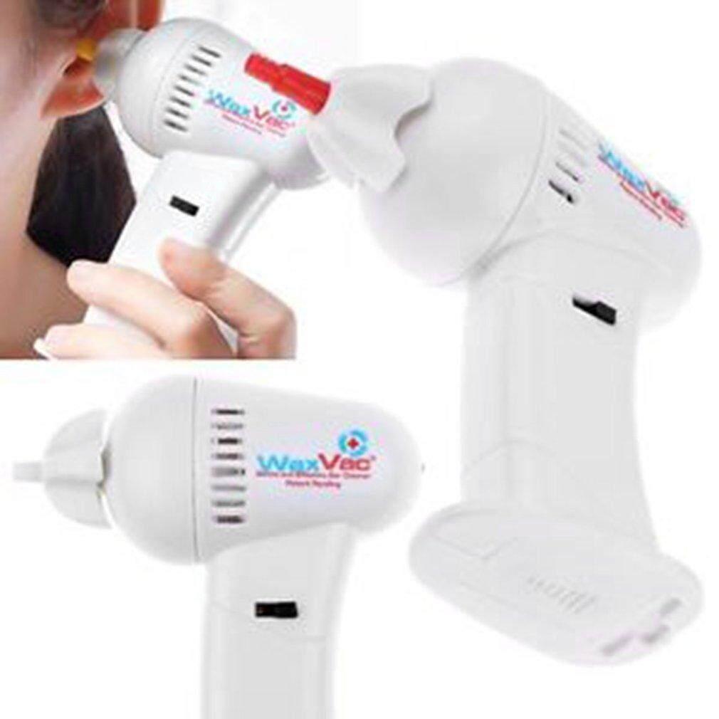 Waxvac Vacuum Ear Cleaner Alat Pembersih Telinga Wax Vac Putih Wvc Gentle And Effective Elt 22 Yika Portable Electronic Removal Safety Health Care