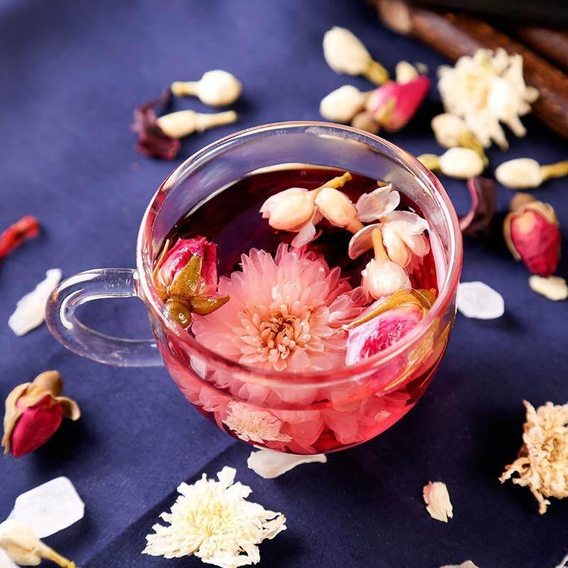 Suplai Mawar Mawar Bunga Tea Kombinasi Rumus Teh Mawar Roselle Tea Kotak 20 Pack OEM Oem-180g-Internasional