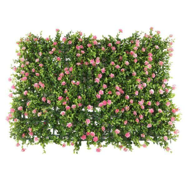 60x40cm Artificial Meadow Artificial Grass Wall Panel for Wedding or Home Decorations - 8 # Free Shipping