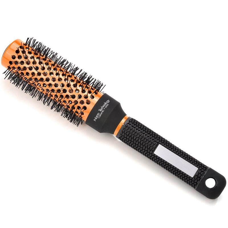 Professional Detangling Hair Brush Round,Barber Supplies Comb for Hair Drying,Styling,Curling