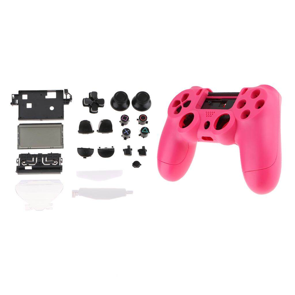 Gaming Accessories For Sale Video Game Prices Brands Ps4 Multifunctional Storage Stand Kit Miracle Shining Full Housing Shell Cover Button Kits Replacement Controller Rose Red