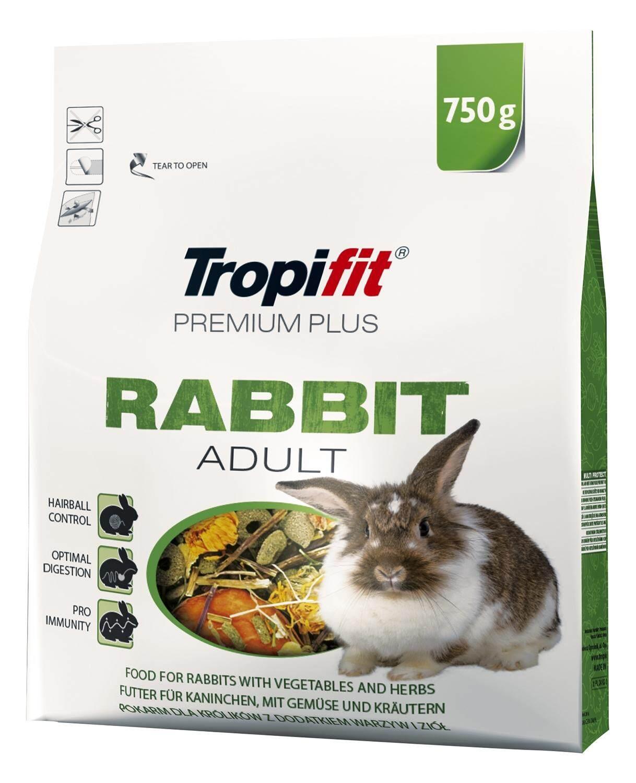 Tropifit Premium Plus Rabbit Adult 750g