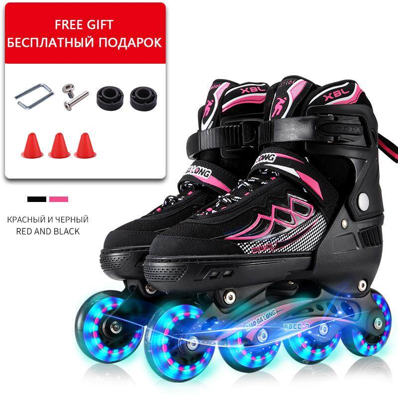 Professional Slalom Inline Skates Adult Roller Skating Shoes Sliding Free  Skating for Teenagers 52d6005b047