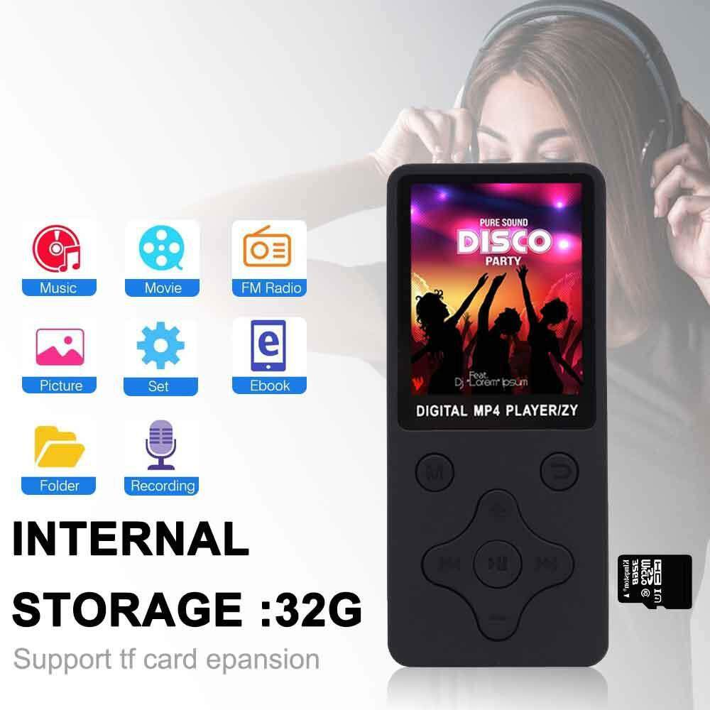 Orzbuy 100% Original English Version Ultrathin Mp3/mp4 Player Can Play 8h With Earphone By Orzbuy.