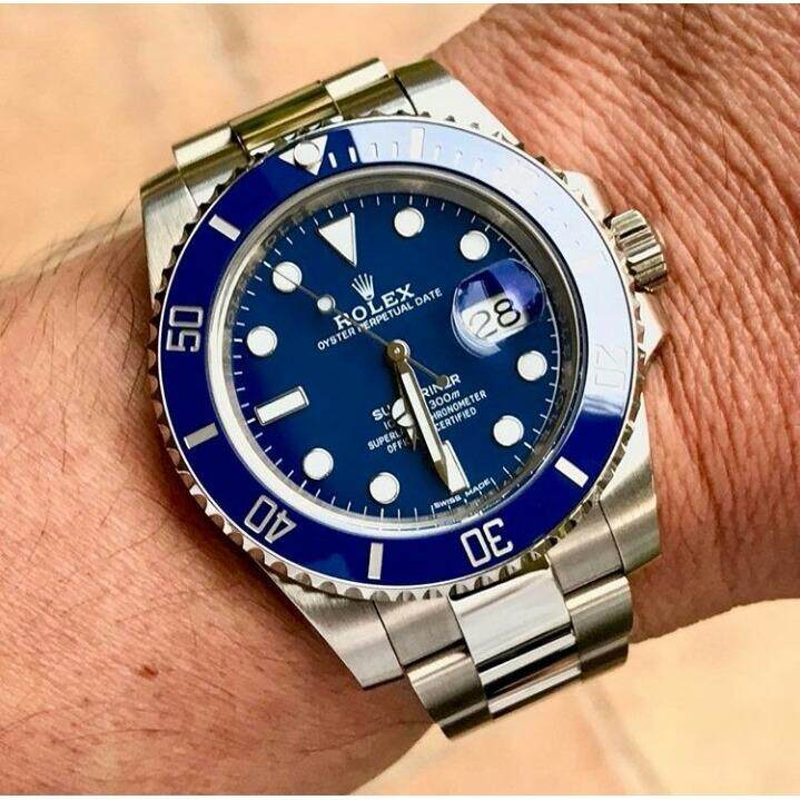 New Arrival 2018 SUBMARINER SILVER STRAPLimited Time Promotion