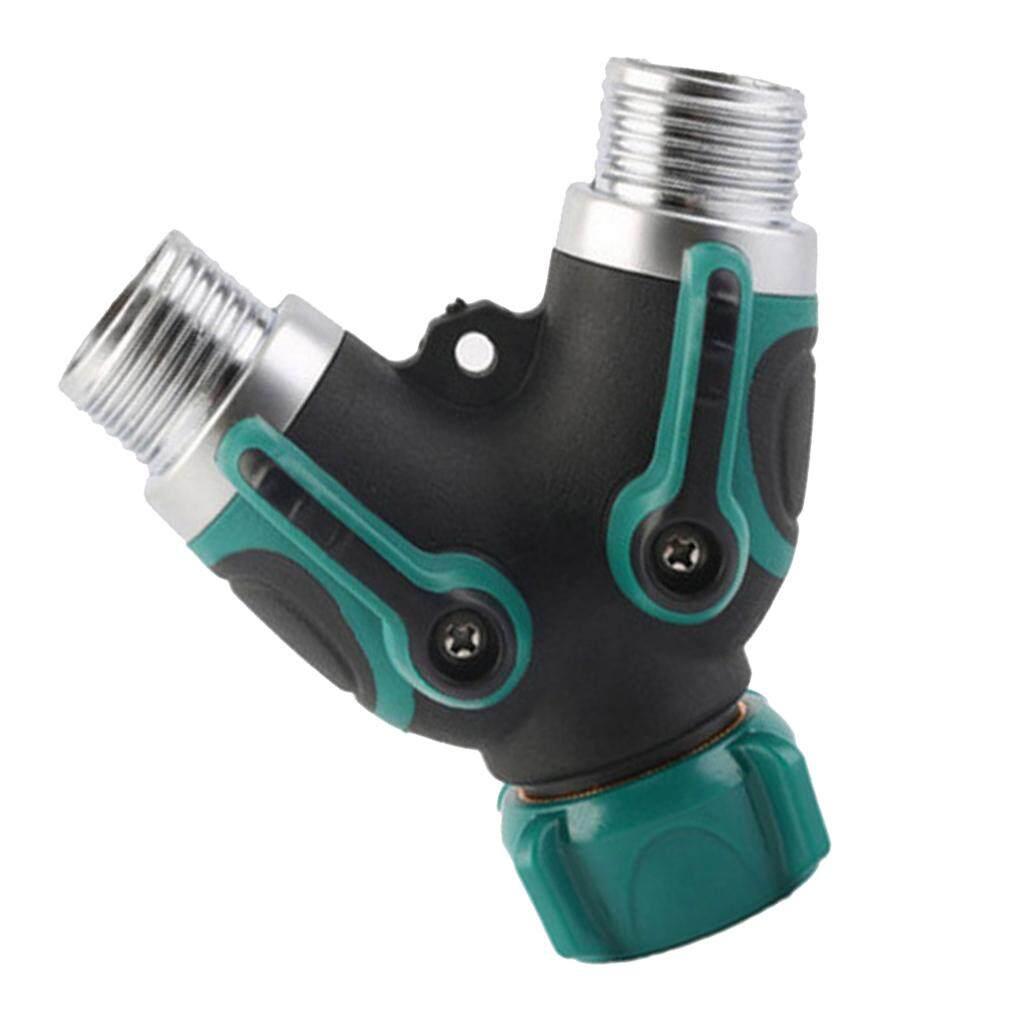 Features Moonar 3 4 Inch Garden Hose 4 Way Splitter Water Pipe ...