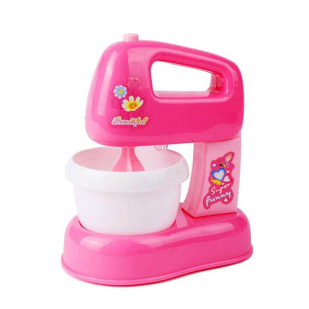 Kitchen Mixer Play House Colorful Food Processor Blender Cook Girls Kids Toy