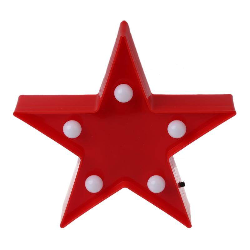 3d Marquee Stars Table Lamp 5 Led Operated Night Light Childrens Room Decor By Royallove.