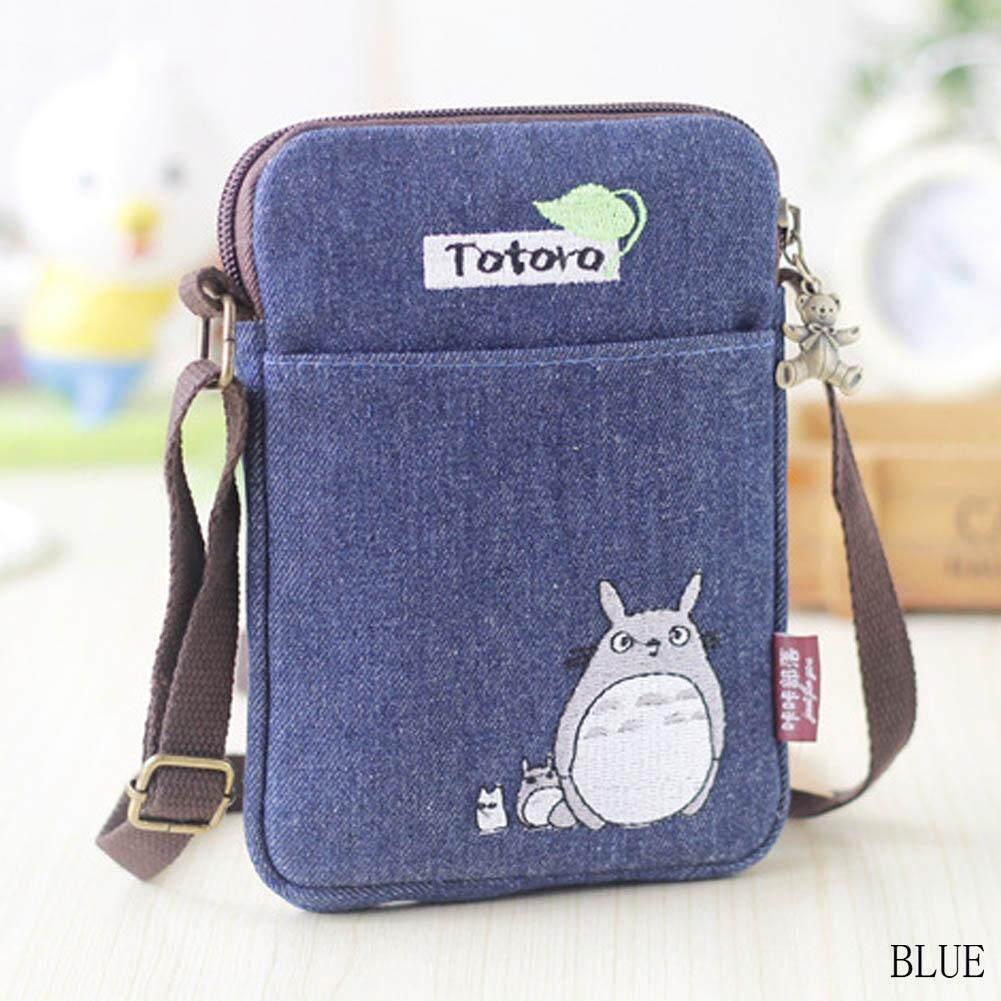 Tas Kosmetik Mini Motif Kartun Totoro Spec Dan Daftar Harga Tempat Pensil L350 Dompet Body Lotion Bzy Fashion Bahu Selempang Bordir Kantung Telepon Gengam