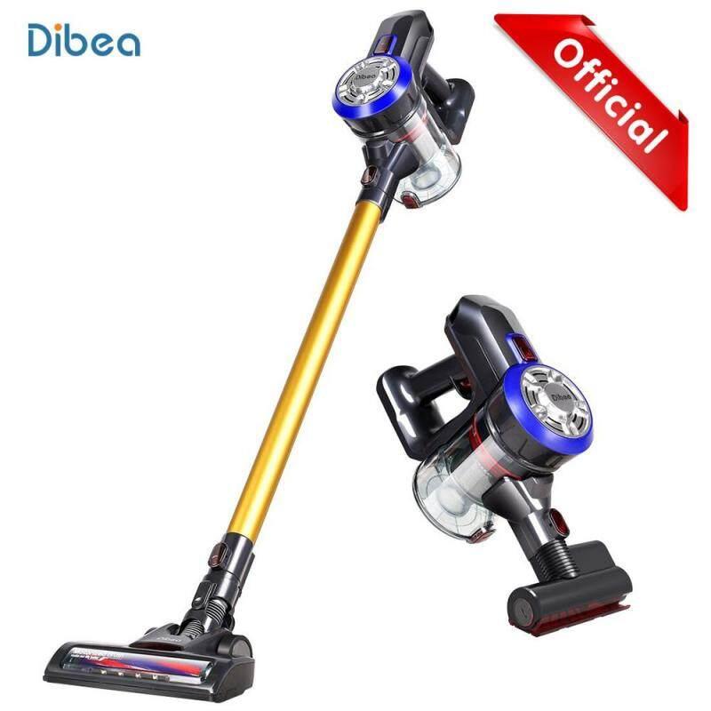 Free Shipping Original Dibea D18 2-in-1 Lightweight Cordless Handheld Stick Vacuum Cleaner with Motorized Brush Singapore