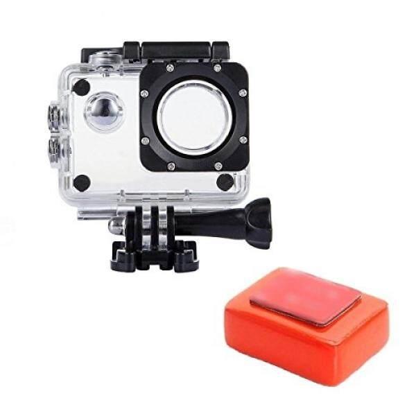 Tek-Wasserdicht Schutz H?lle Geh?use mit Float Schwamm f?r Akaso ek7000 4 K/Apeman/victure/odrvm/sj4000/Eken h9r Unterwasser Sport Action Kamera - intl