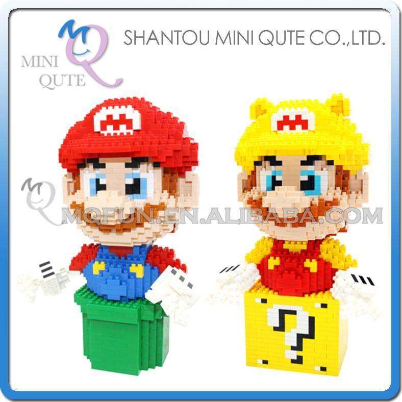 Full Set 2pcs Mini Qute Kawaii CKL kawaii cartoon super mario game models diamond plastic building blocks bricks educational toy