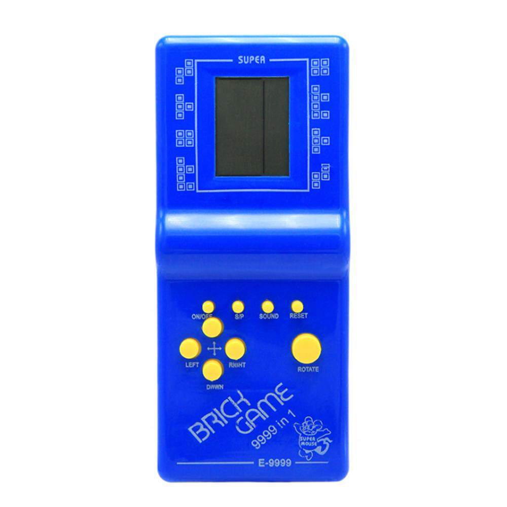 Retro Classic Handheld Game Player Lcd Electronic Games Console Childhood Tetris Educational Game Console - Intl By Tomtop.
