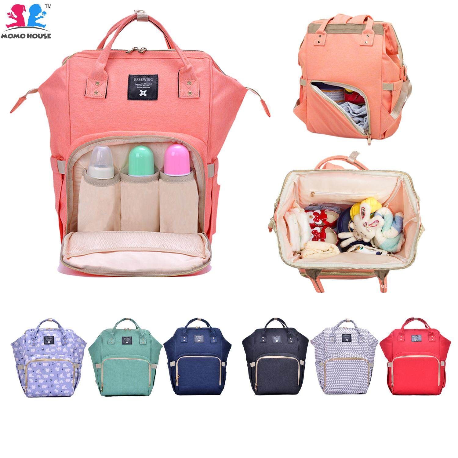 Diaper Bags For The Best Price In Malaysia Babygo Inc Travelling Pouch Organiser Baby Nappy Backpack Maternity Large Capacity Bag