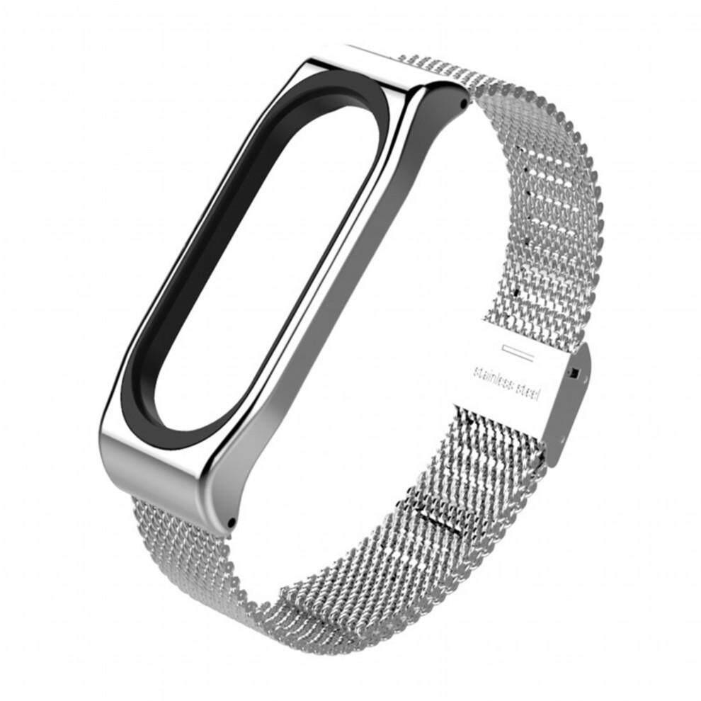 Fitur New Mijobs Mi Band 3 Strap Metal Bracelet For Xiaomi 2 Original Smart Detail Gambar Screwless Stainless Steel Wristbands Replace Accessories Terbaru