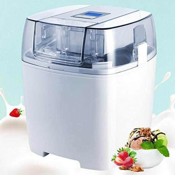 Aucma Ice Cream Maker, 1.5 Quart Ice Cream Machine, Automatic Frozen Yogurt, Sorbet and Soft Serve Machine with LCD Timer - intl