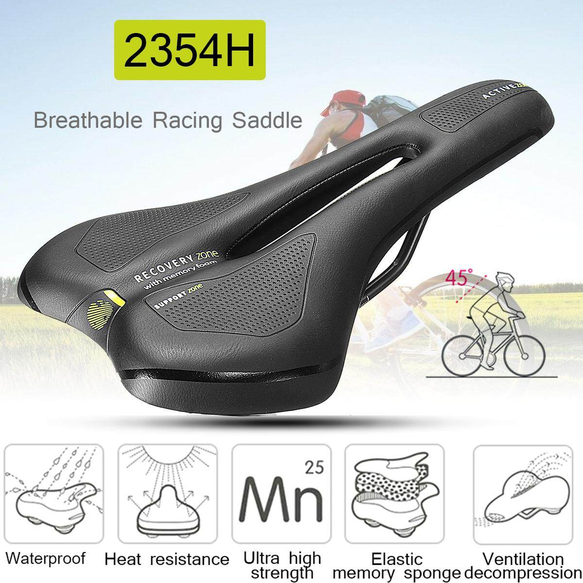 Selle Royal Bicycle Saddle Comfort Breathable Sr Racing Saddle For Mtb Road Bike - Intl By Audew.