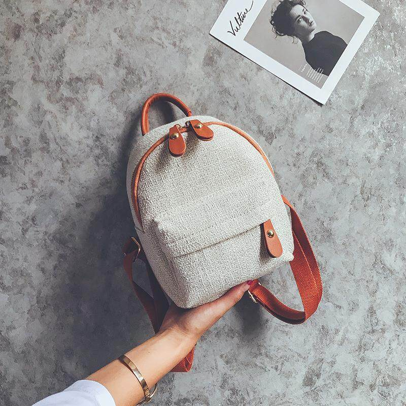 2019 New Style Fashion INS Ultra-Fire of Backpack Female Small Backpack Korean Style Summer Hipster Simple Versatile Girls