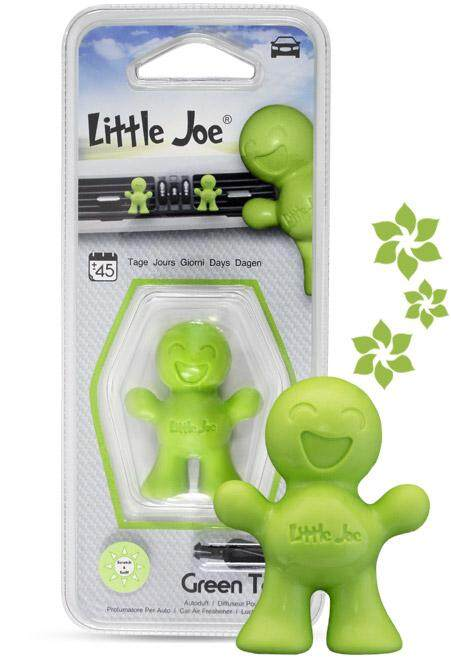 Little Joe Car Air freshener Made in Italy High Quality (Green Tea)
